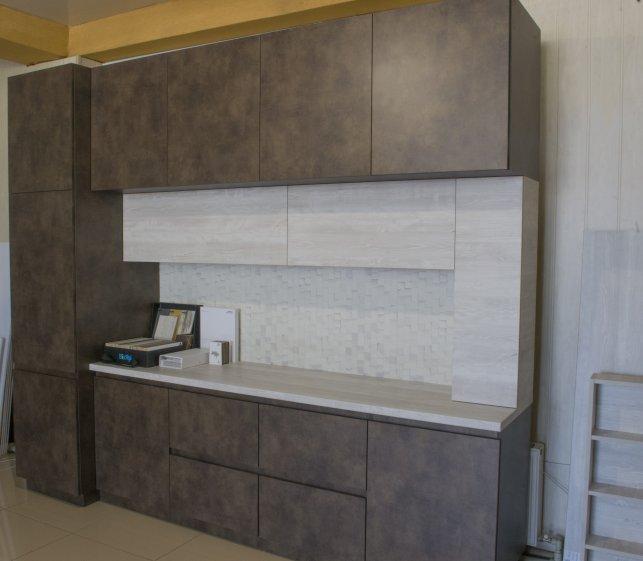 фасад кухни ДСП Egger и Cleaf система P2O
